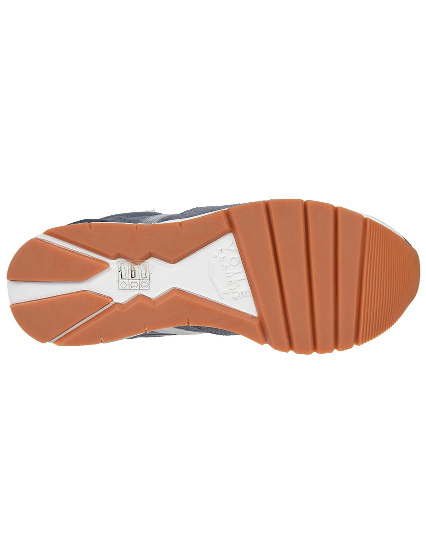 Замшевые голубые кроссовки VOILE BLANCHE (ITALY)