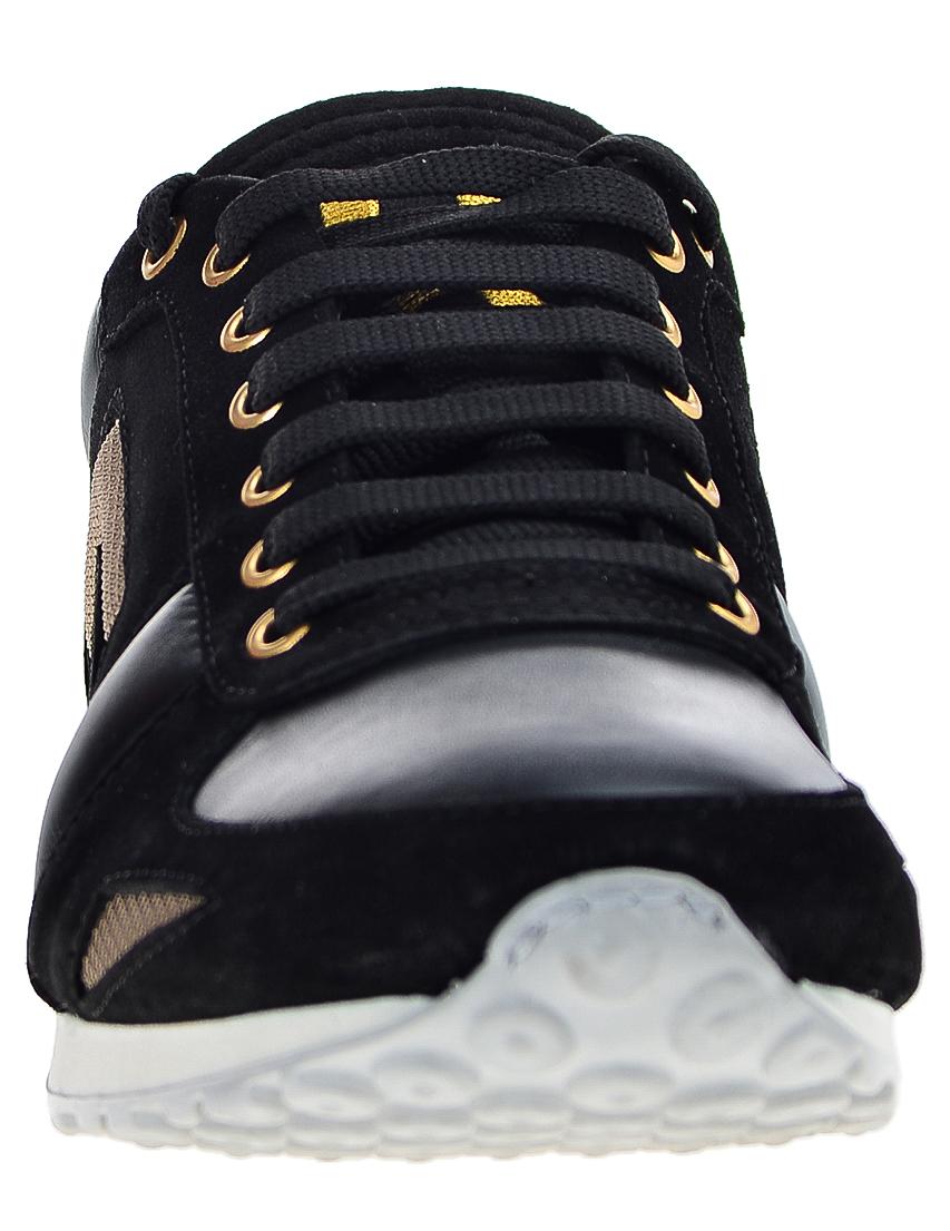 Фото 4 - мужские кроссовки  черного цвета