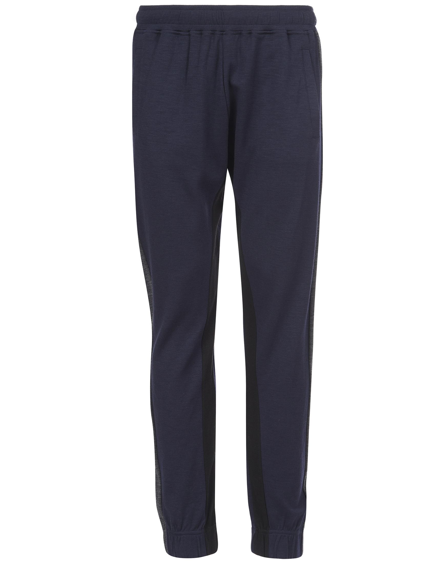 Мужские спортивные брюки ERMENEGILDO ZEGNA 0540-wool-blueberry_blue