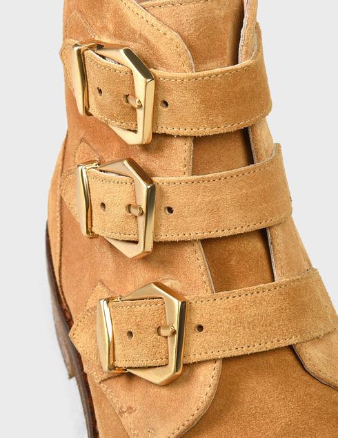 женские коричневые Ботинки Pertini 201W16595D1 - фото-6