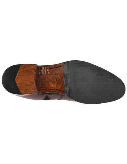 женские коричневые кожаные Ботинки Berto Giantin AGR-A2005808_brown - фото-5