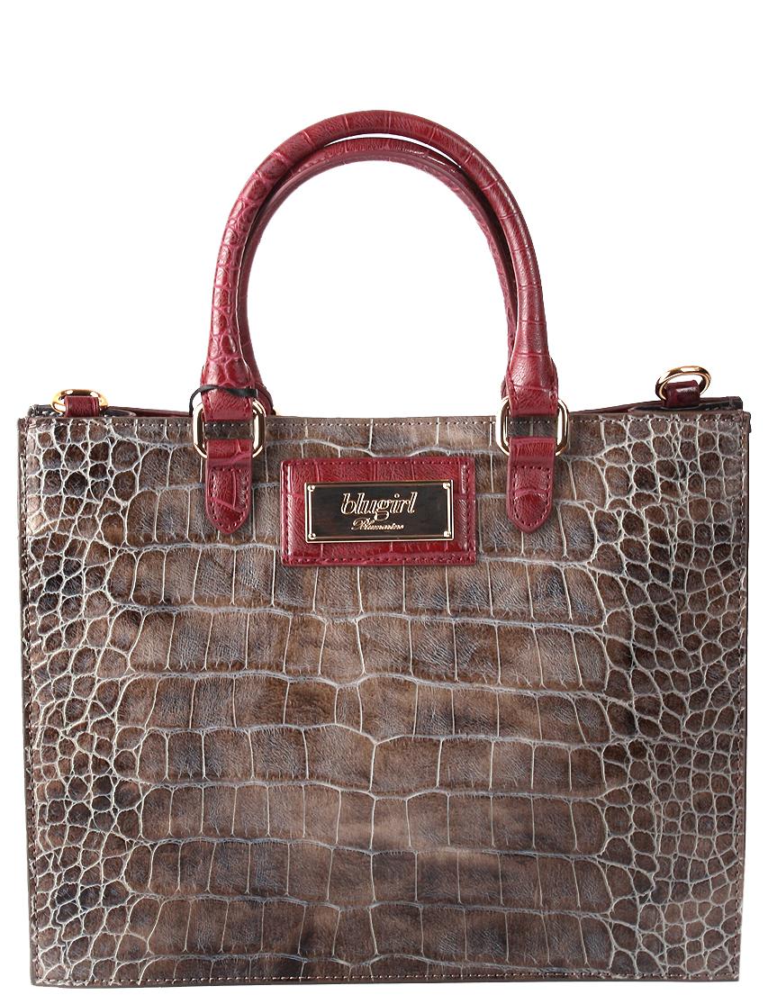 Купить Женские сумки, Сумка, BLUGIRL, Коричневый, Осень-Зима
