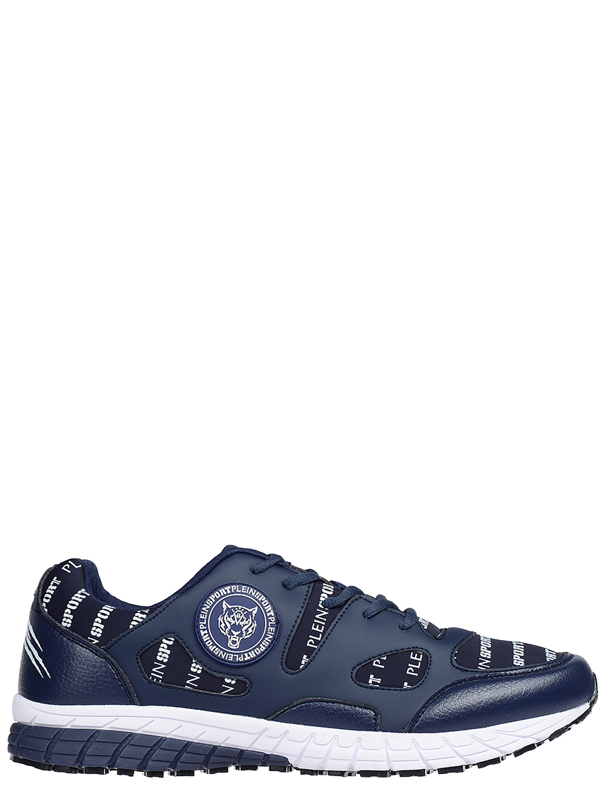 Мужские кроссовки PLEIN SPORT 858-blu-logo