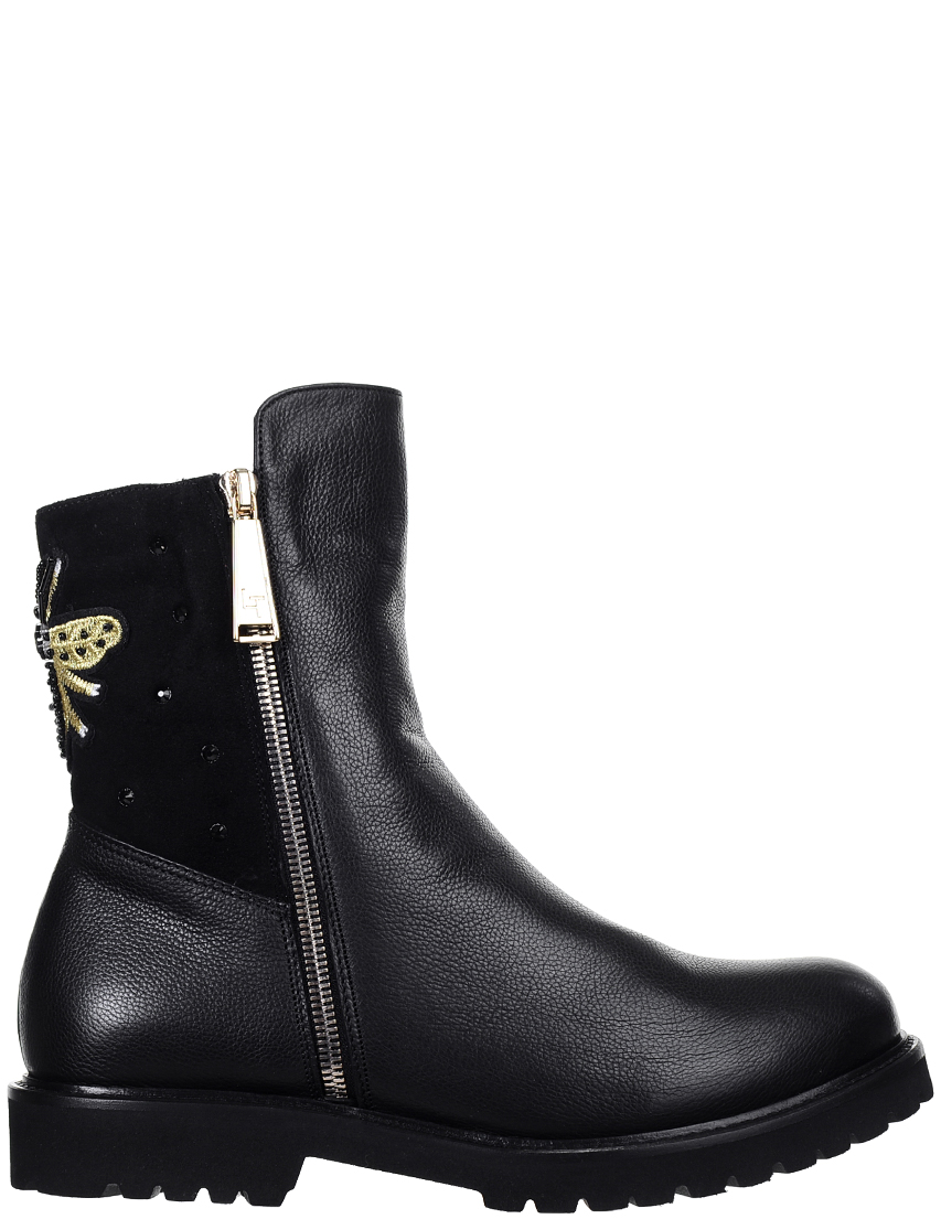 Женские ботинки Luigi Traini 25002_black