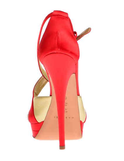 красные Босоножки Casadei 6476_red размер - 37; 37.5; 38