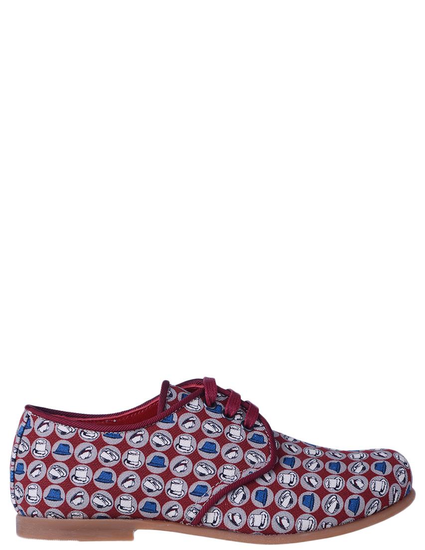 Детские туфли для мальчиков DOLCE  GABBANA DAQ009_red