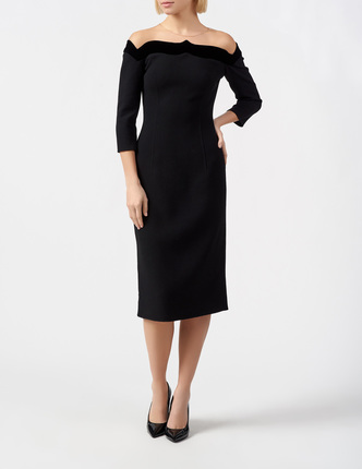 OSCAR DE LA RENTA платье