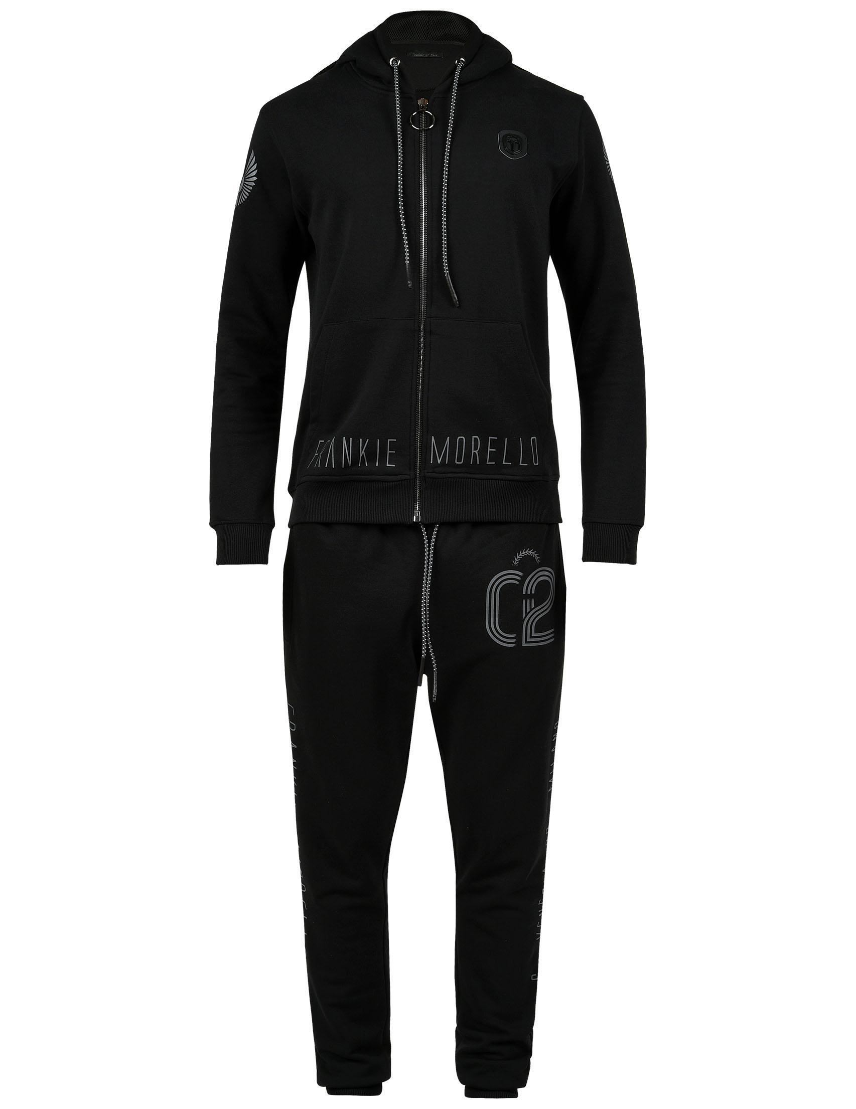 Купить Спортивный костюм, FRANKIE MORELLO, Черный, 100%Хлопок, Осень-Зима