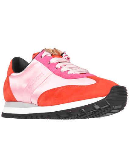 женские розовые Кроссовки Cesare Paciotti 461905-pink - фото-2