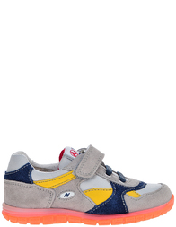 Детские кроссовки для мальчиков Naturino Rick-grigio_gray