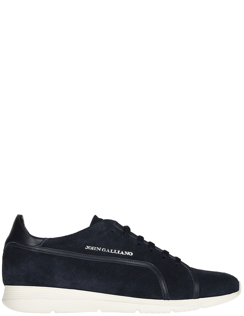 Мужские кроссовки John Galliano 3817-blue