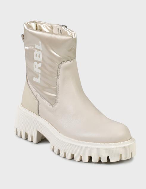 женские бежевые Ботинки Loriblu 2I4BL05400-LATTE - фото-2