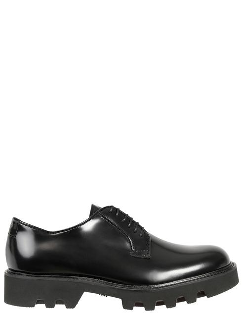 мужские черные Дерби Emporio Armani X4C437XF057-000002 - фото-2