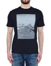 Мужская футболка ARMANI JEANS 3Y6T48-6JPFZ-1579