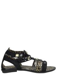 Детские сандалии для девочек ROBERTO CAVALLI FEA0613_black