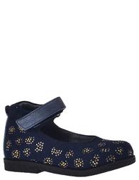 Детские туфли для девочек ASSO 350_blue