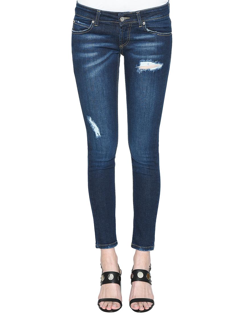 Женские джинсы FRANKIE MORELLO FWCS8333JE-B02-blue