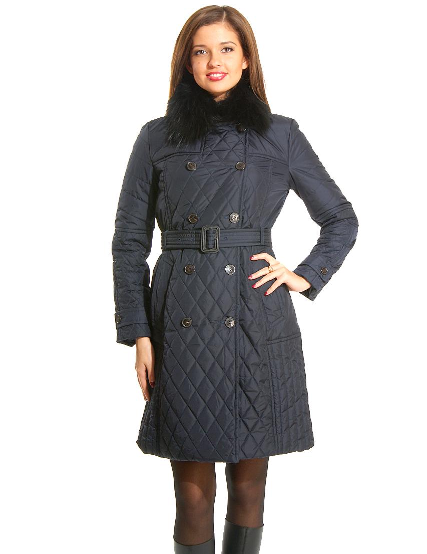 Купить Пальто, CERRUTI 18CRR81, Синий, 100%Полиамид, Осень-Зима