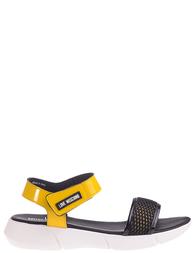 Женские сандалии Love Moschino AGR-16243_yellow