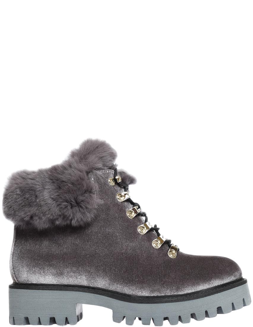 Купить Ботинки, MASSIMO SANTINI, Серый, Осень-Зима