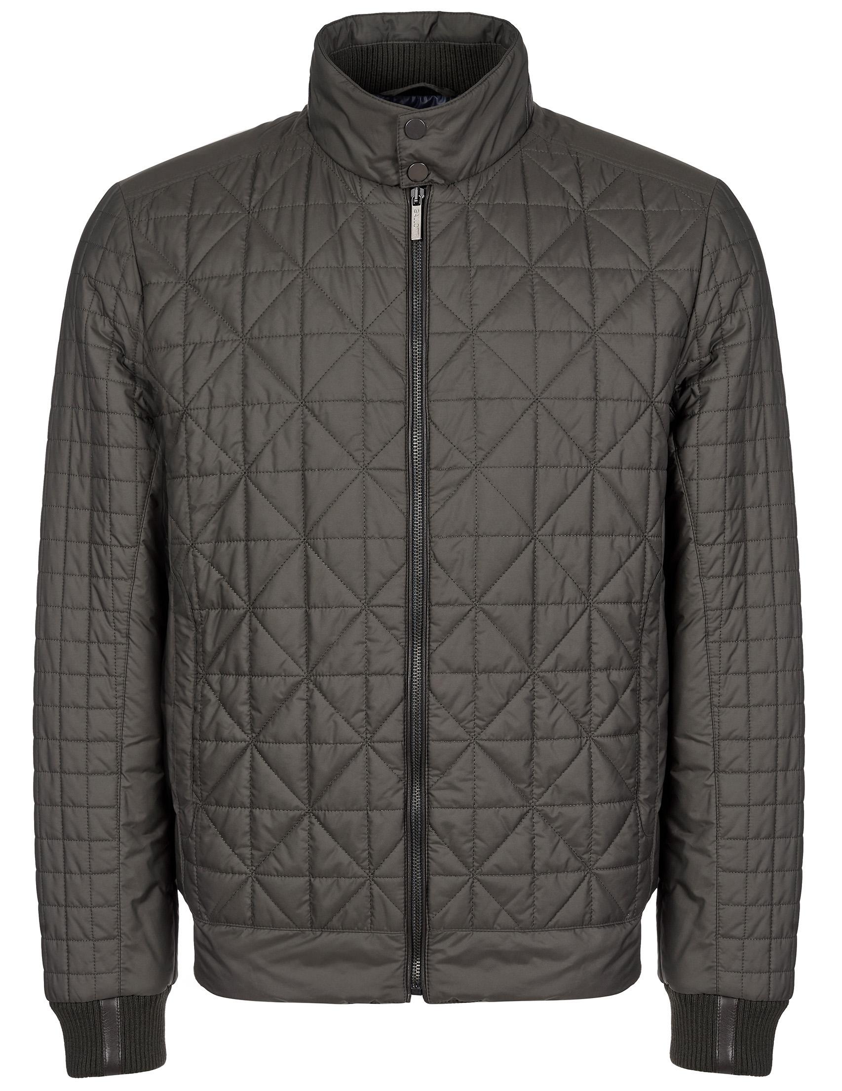 Купить Куртки, Куртка, GALLOTTI, Серый, 100%Полиэстер;100%Кожа, Осень-Зима