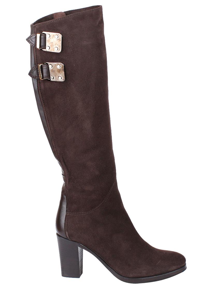 Купить Сапоги на каблуке, LE PEPE, Коричневый, Осень-Зима