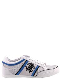 Мужские кроссовки ROBERTO CAVALLI 5492-white