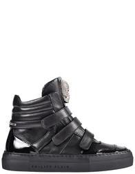 Женские кроссовки Philipp Plein 0527-black