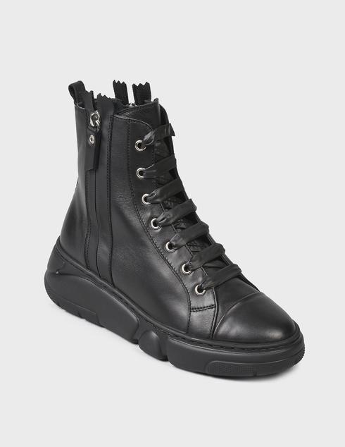 женские черные Ботинки Agl D938505BGKA0761013 - фото-2