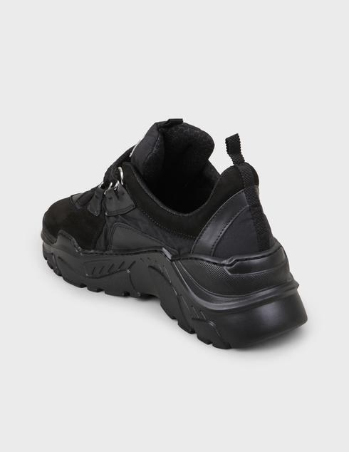женские черные Кроссовки My Grey 028-R-black - фото-2
