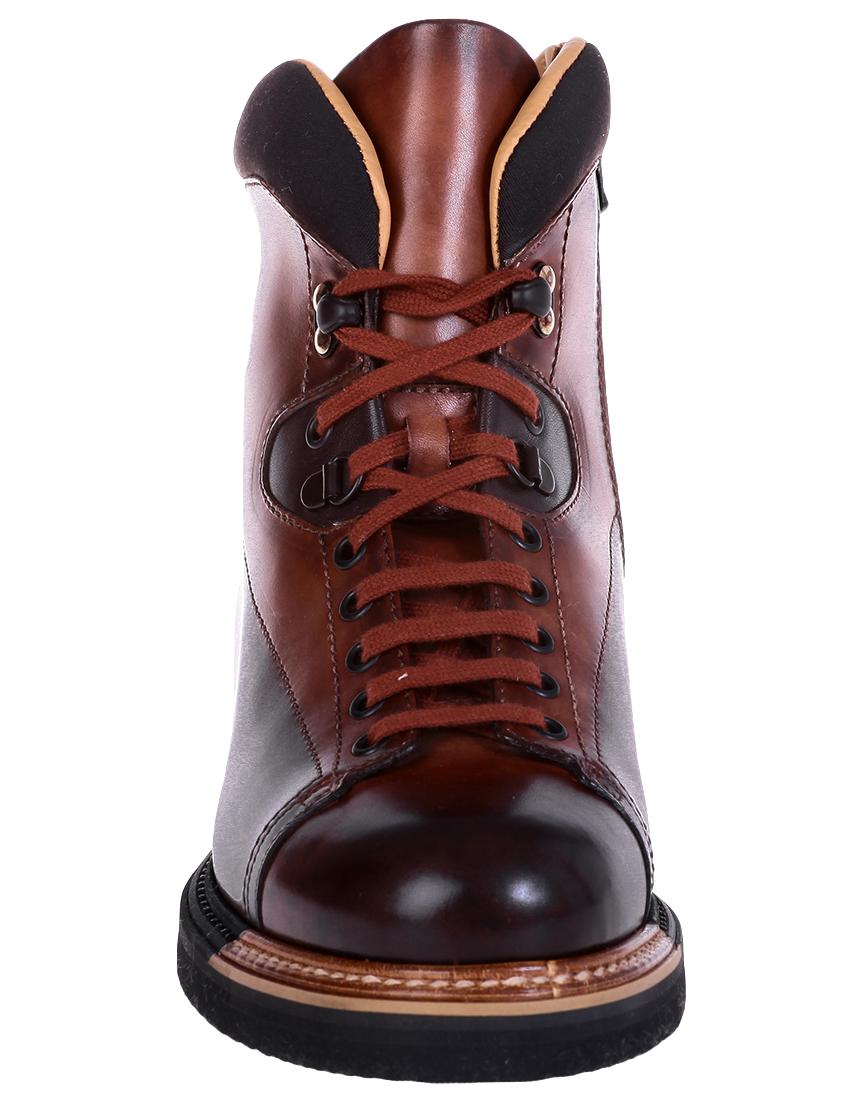 Фото 6 - мужские ботинки и полуботинки  коричневого цвета