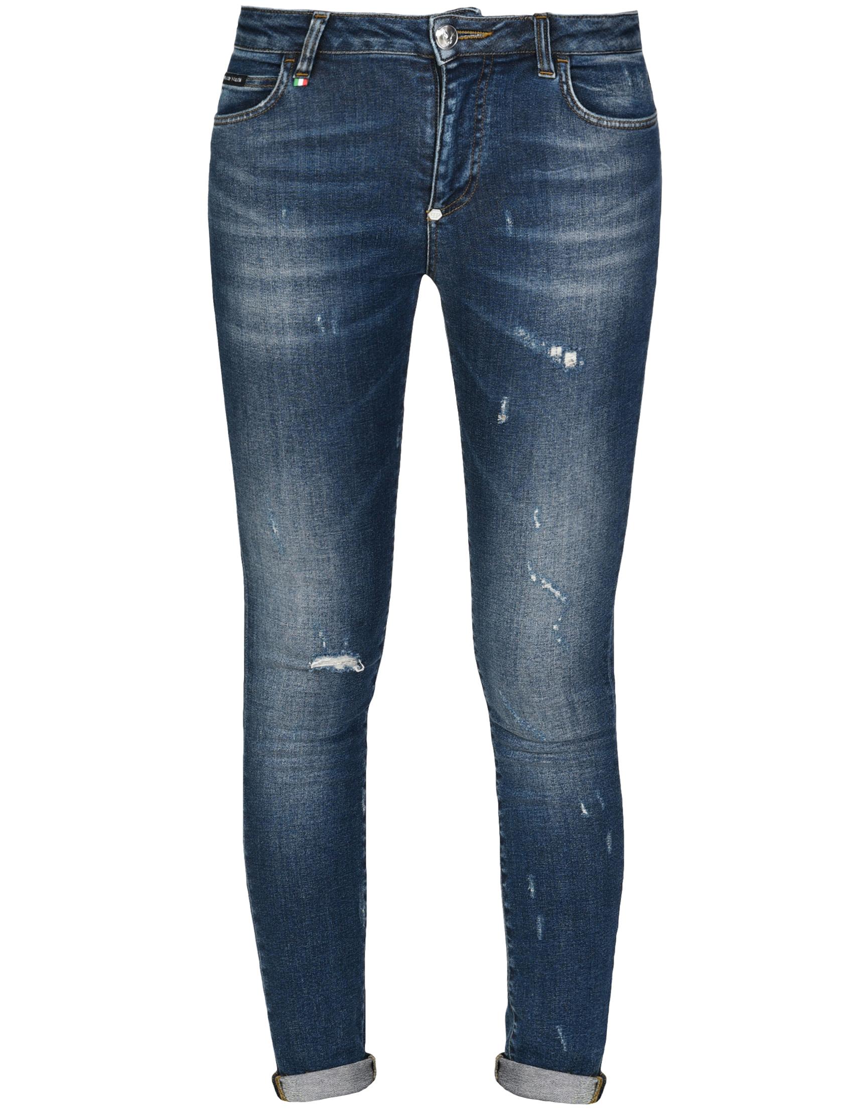 Женские джинсы PHILIPP PLEIN 0710_blue