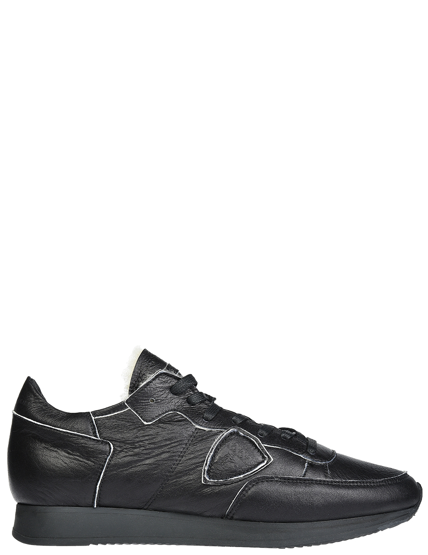 Мужские кроссовки Philippe Model AV02_blakc