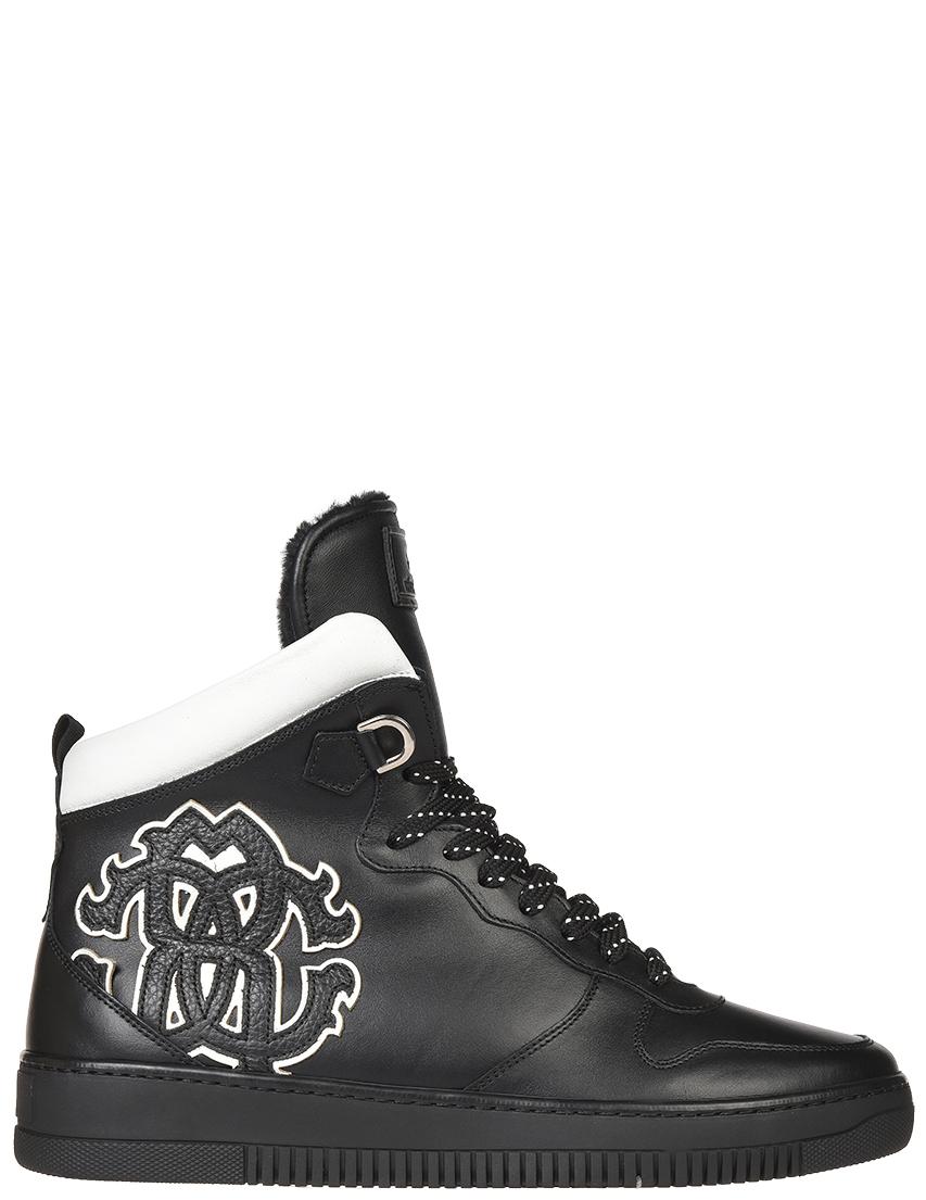 Мужские кроссовки Roberto Cavalli 5257-МК_black