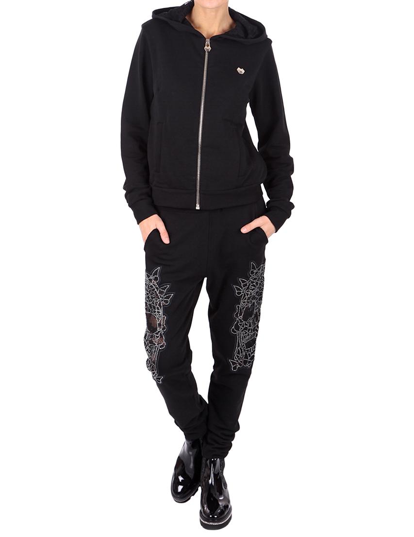 Купить Спортивный костюм, PHILIPP PLEIN, Черный, 100%Хлопок;70%Хлопок 30%Полиэстер, Осень-Зима
