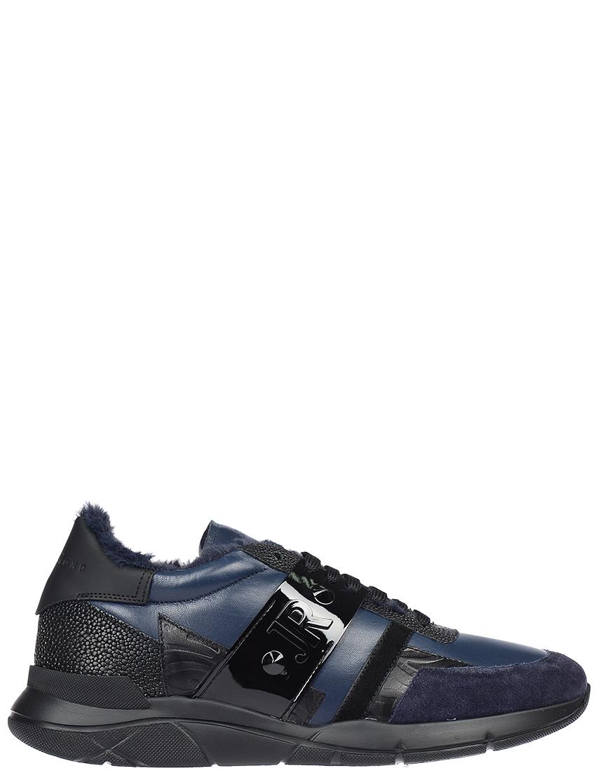 Мужские кроссовки John Richmond 3185-LК-mix_blue