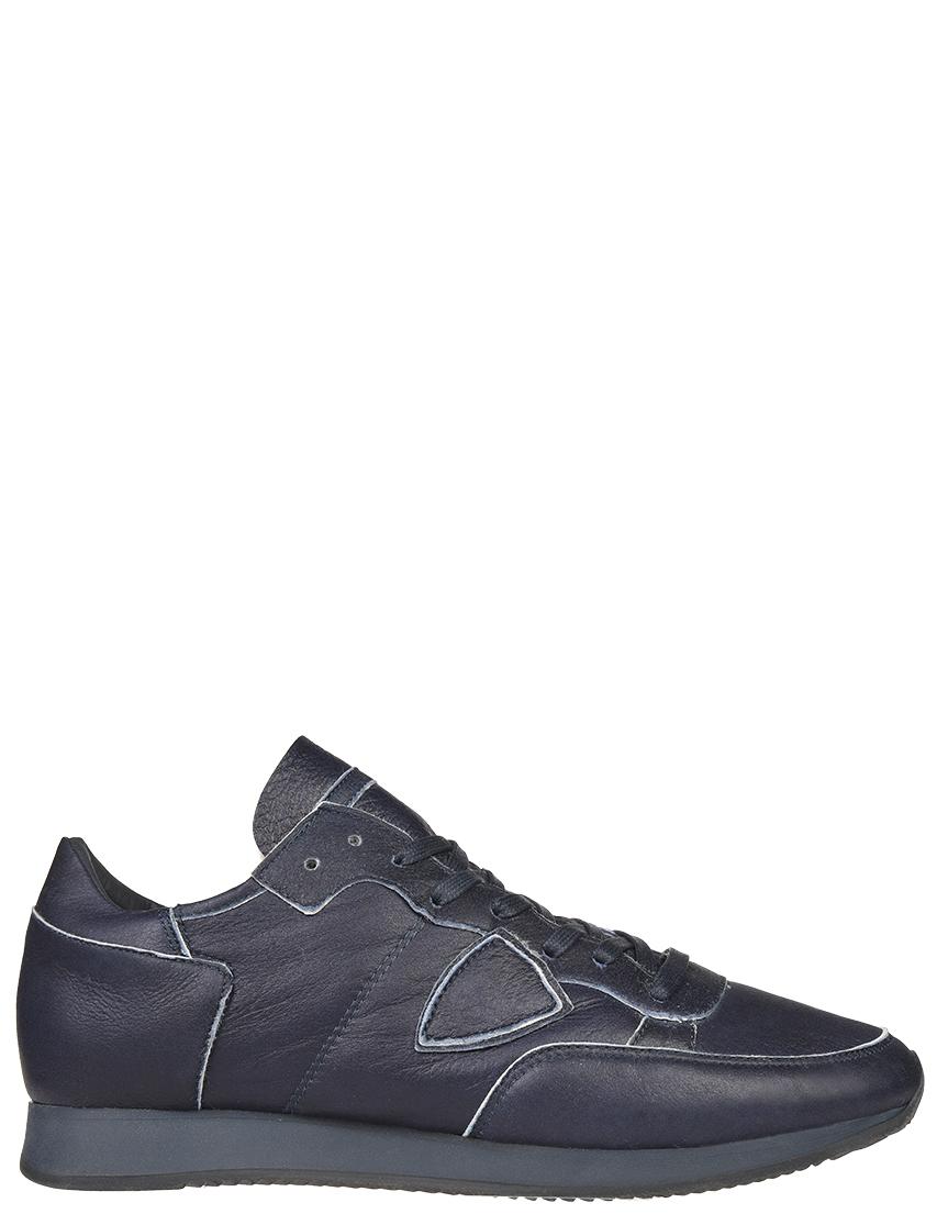 Мужские кроссовки Philippe Model AV03_blue