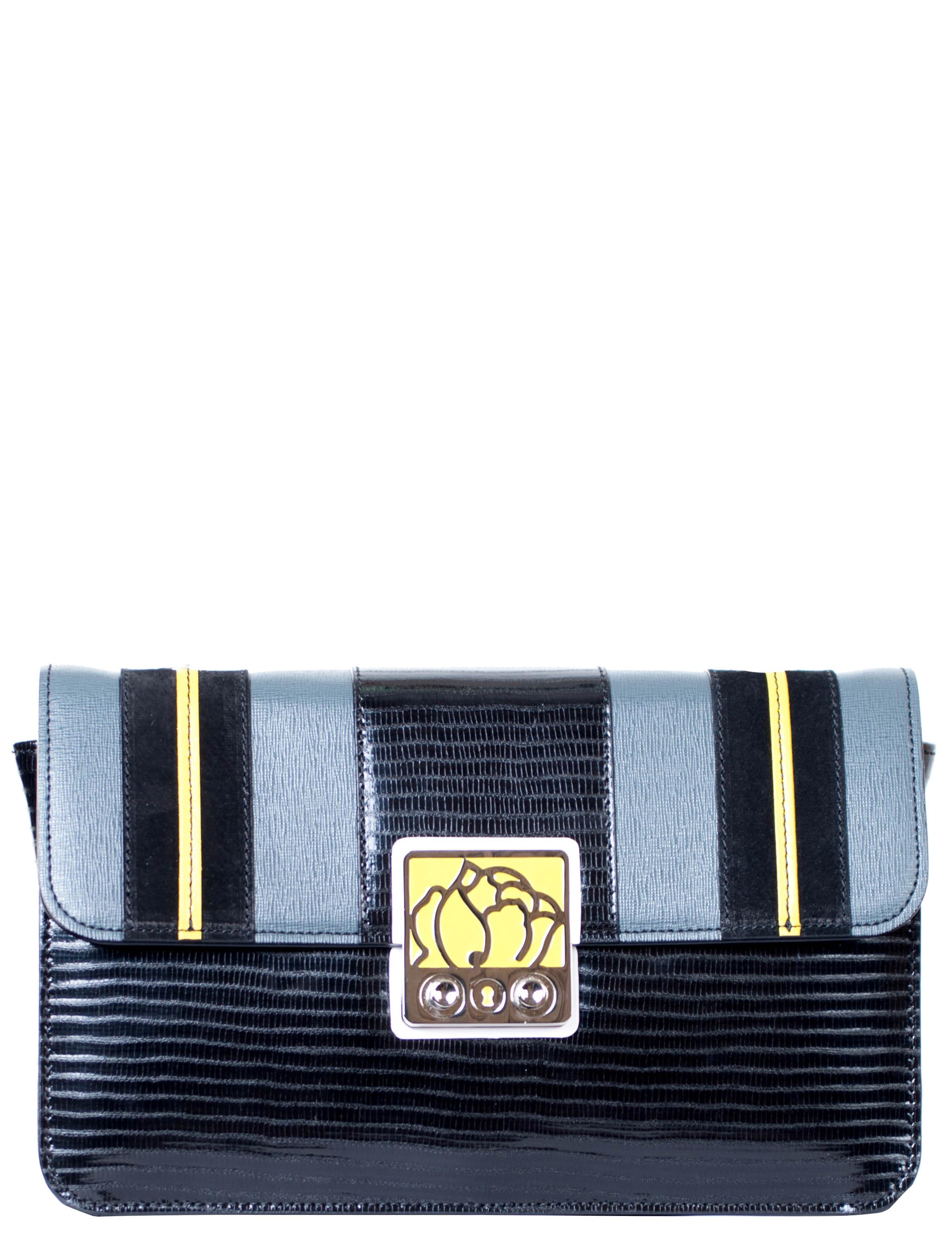 Купить Женские сумки, Сумка, BRACCIALINI, Черный, Осень-Зима