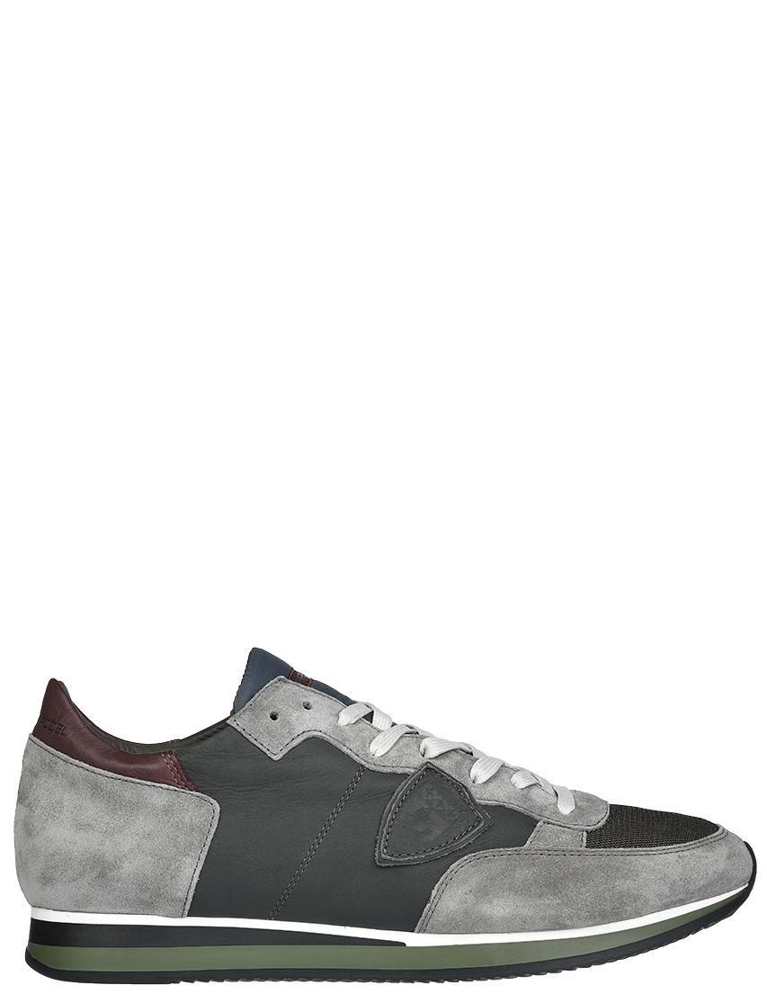 Мужские кроссовки Philippe Model SWZ19_gray