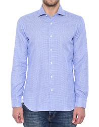 Мужская рубашка BARBA NAPOLI K1U13H517307W_blue