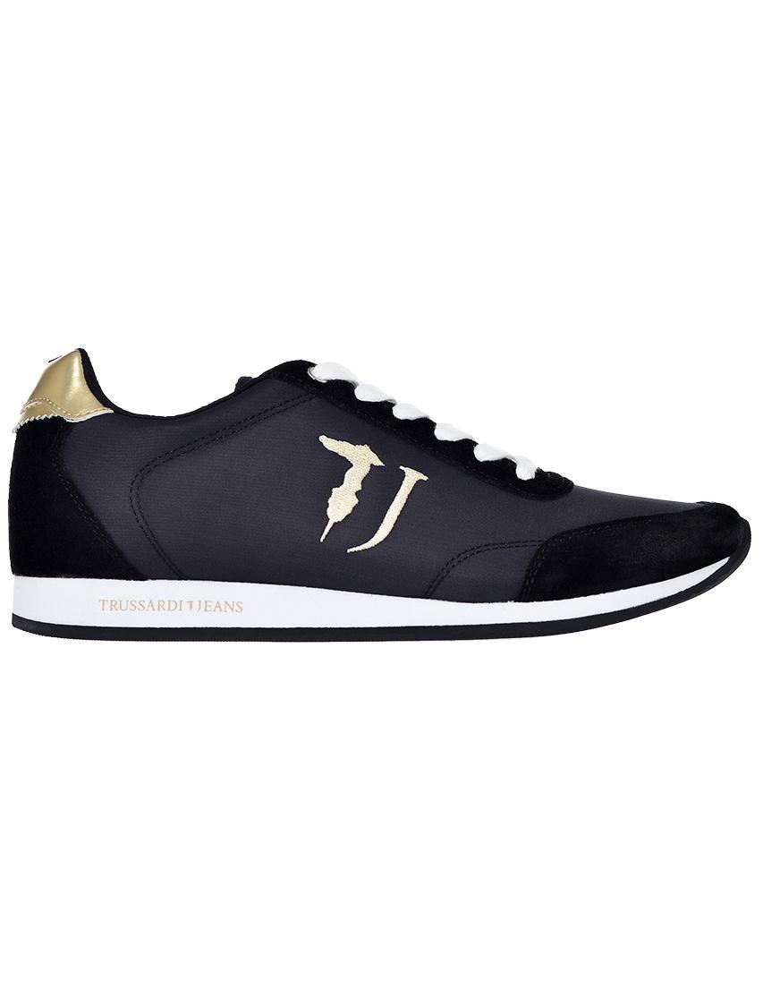 Фото 7 - женские кроссовки  черного цвета