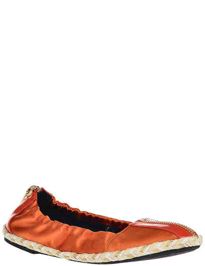 женские оранжевые Балетки Giorgio Fabiani G1246_orange - фото-2