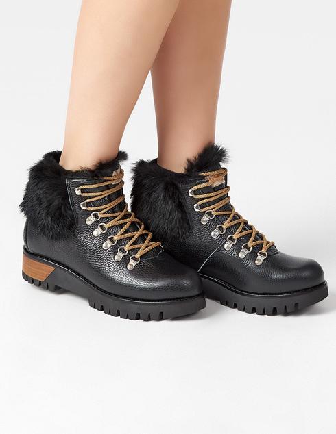 черные Ботинки Montelliana MNTL4_997-BLACK