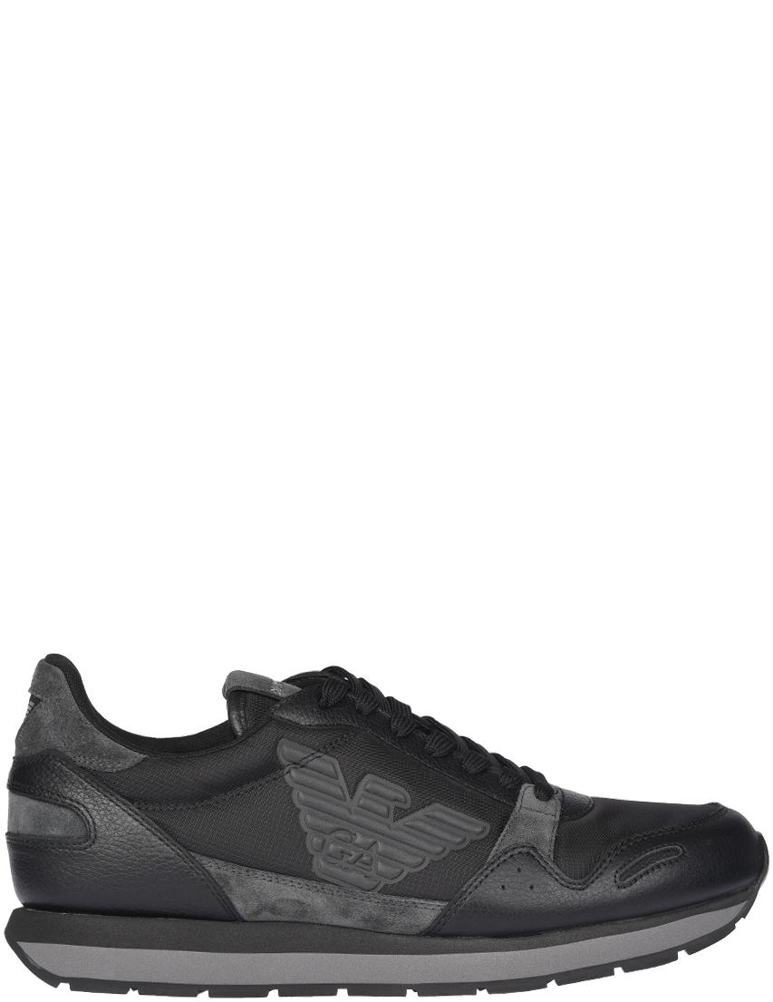Мужские кроссовки Emporio Armani AGR-215-B936_gray