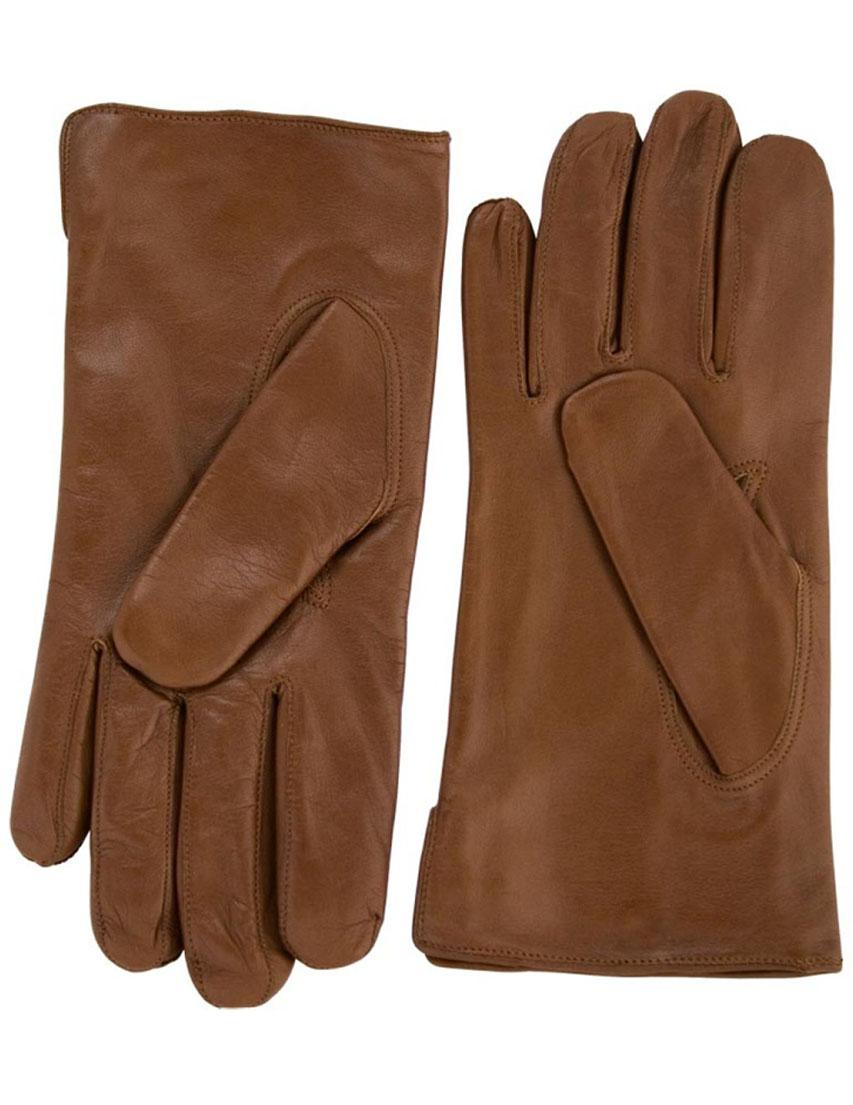 Мужские перчатки ALPA GLOVES S-29030-012cognac