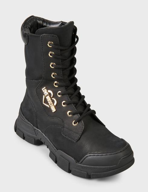 черные Ботинки Love Moschino JA15654G0DIU0000