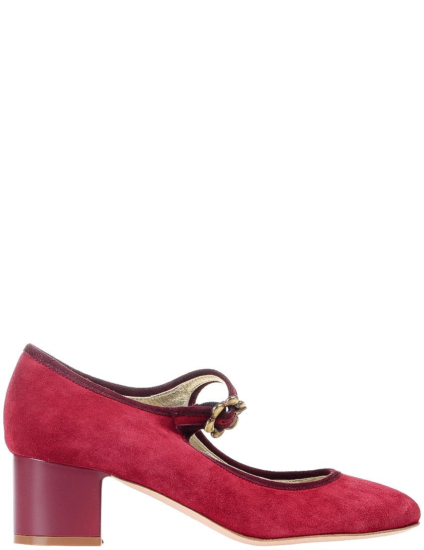 Купить Туфли, INES DE LA FRESSANGE, Бордовый, Весна-Лето