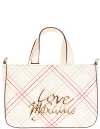 Женская сумка Love Moschino 4296_beige