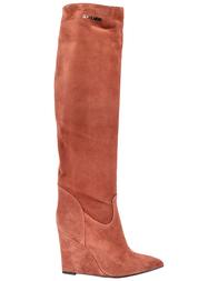 Женские сапоги Genuin Vivier 61075-brown