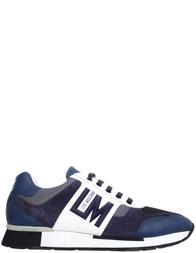 Мужские кроссовки Love Moschino 75061/9106_blue